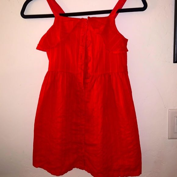 Girls Reddish Orange Gymboree Dress